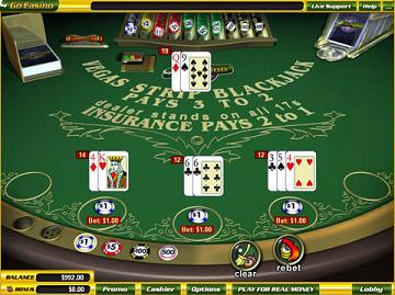 Virtual gambling game